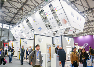 international industry professionals network during the door/gate exhibition